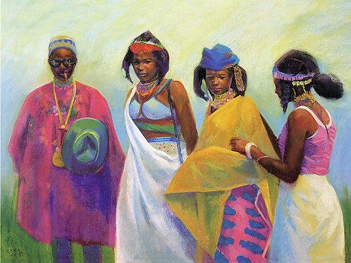 Young Fulani Ladies