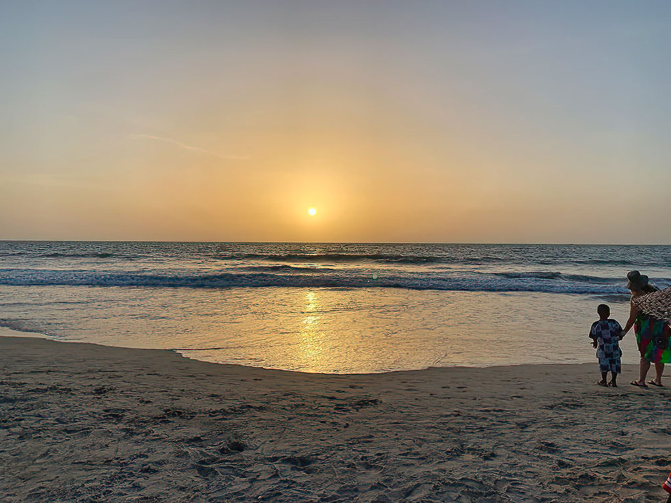 sunset Ocean image at sunset