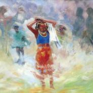 Fulani Maiden at Sellah