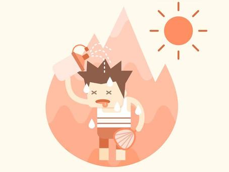 外出活動 防備中暑