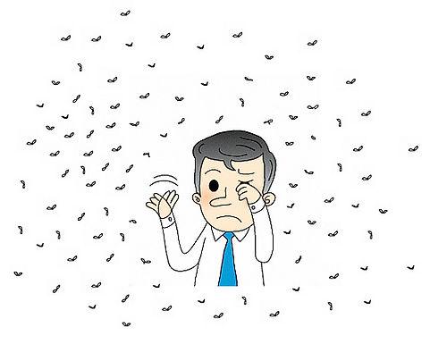 患上飛蚊症,怎麼辦?