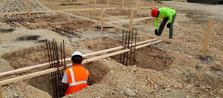 Placing rebar for concrete. . . . #RobsonConstruction #CaymanIslands #CaymanContractor #ConstructionLife #Foundation #Rebar #Concrete #Cleaning #WorkSite #WellnessGarden #SevenMileBeach #SteelLife #Reinforcement #Construction #Rebar #Steel #teamwork #Instadaily #civilwork #Steelfixinglife #infrastructure #Steelfixingforlife