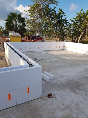 Insulating concrete forms, or ICFs, are forms used to hold fresh concrete that remain in place permanently to provide insulation for the structure they enclose.