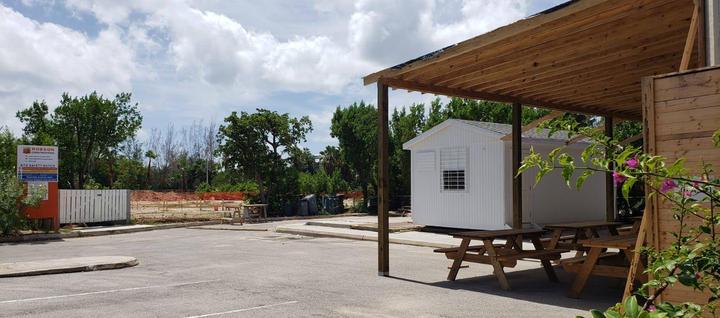 Mobilization of construction site for the Wellness Garden project . . . #wellnessgarden #sevenmilebeach #sevenmileroad #hotels #construction #setupconstruction #contractor #project #caymanislandsdevelopment #Caymancontractor