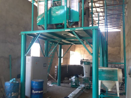 Installing one more set 20t wheat mill machine in  Chelo,Ethiopia