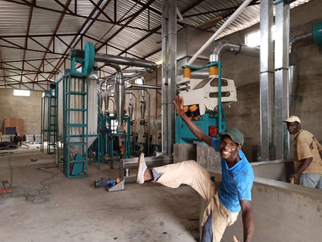 New order of 30t maize mill machine from Malawi