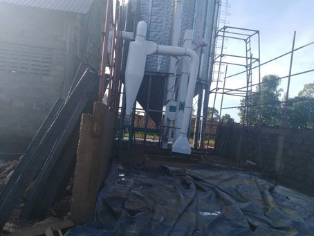 Installing 200t silo for the 50t client in Mbeya Tanzania