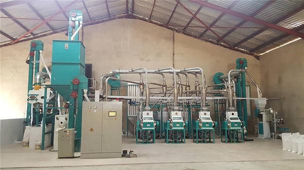 30T maize mill in  Faskari in Katsina St