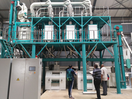 received new order of 2 sets 50t/24h maize mill machine from Tanzania