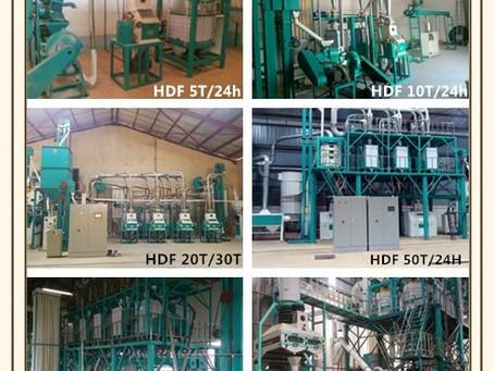 Hongdefa 5-500t/24h maize mill machine