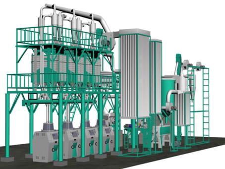 running 150t/24h maize mill machine in Zambia, Kenya, Tanzania