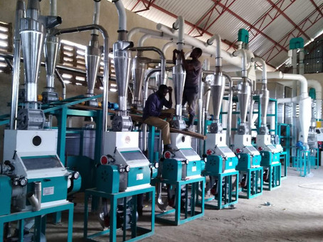 Tanzania Mbeya 50t maize mill machine