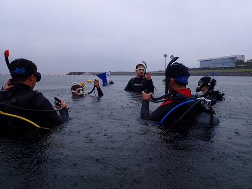大雨講習・・・ 大分ダイビング