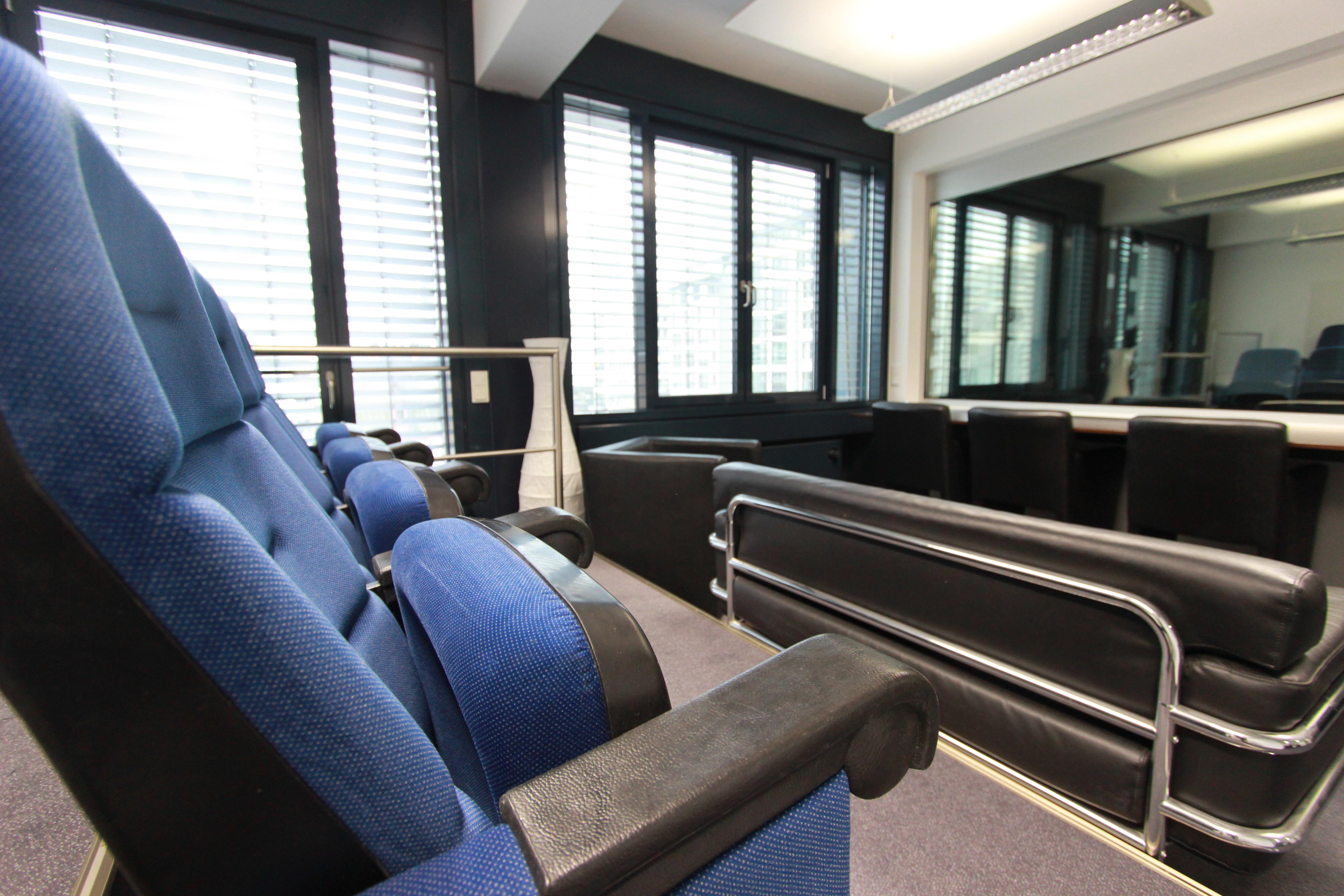Blue Backroom