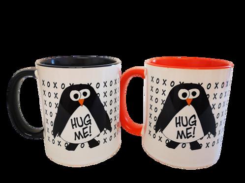 ספל פינגווין - HUG ME