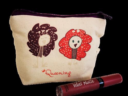 Queening  - תיק איפור  - מתנה לאישה