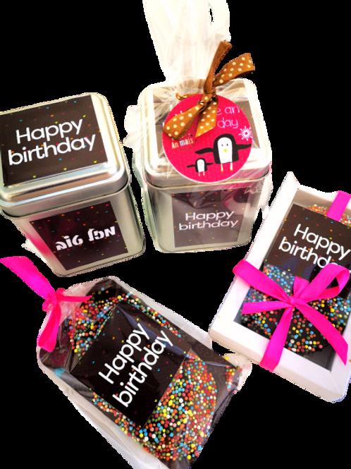 מארזי שוקולד פרימיום - מתנות לעובדים ליום הולדת
