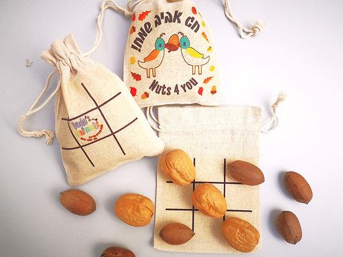משחק  אגוזים איקס עיגול
