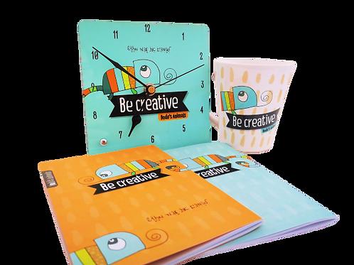 BE CREATIVE -מגוון מוצרים למשרד ולבית מסדרת