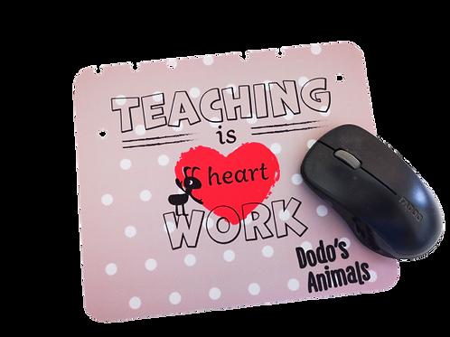 מתנות למורה ולגננת - פד לעכבר  עם מסר של הוקרה