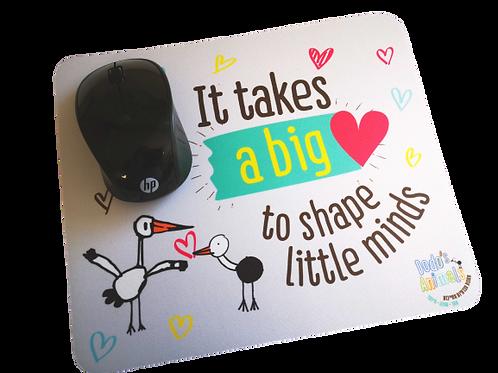 פד לעכבר - lt takes a big heart to shape little minds