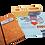 Thumbnail: מארז מתנה- מחברת, פד לעכבר, מעמד שולחני - עם מסר של הוקרה לצוות החינוכי
