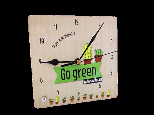 שעון שולחני - קקטוסים -  GO GREEN סדרת
