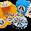 Thumbnail: מטבעות שוקולד וסביבון פינגווין בקוביה