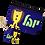 Thumbnail: ארנק ומחזיק מפתחות עם שם הילד/ה