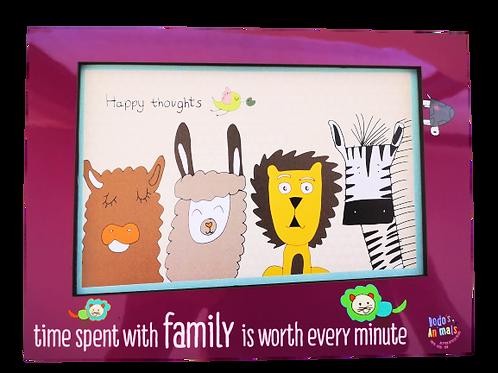 מסגרת מגנטית לתמונה משפחתית