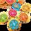 Thumbnail: מטבעות שוקולד עם ציורי קומיקס -ארוזים ברשת