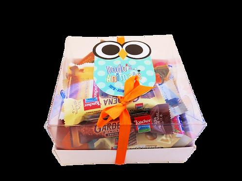 מארז משלוח מנות בקופסה- ינשוף גדול