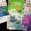 Thumbnail: סט מגנטים - מתנה לאורחים בבר/ת מצווה, מתנות לכנסים