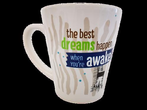 ספל - The best dreams happen when you awake