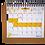 """Thumbnail: לוח שנה שמח ואופטימי במיוחד - תשפ""""א 2020-21 - פורמט ספירלה שולחני"""