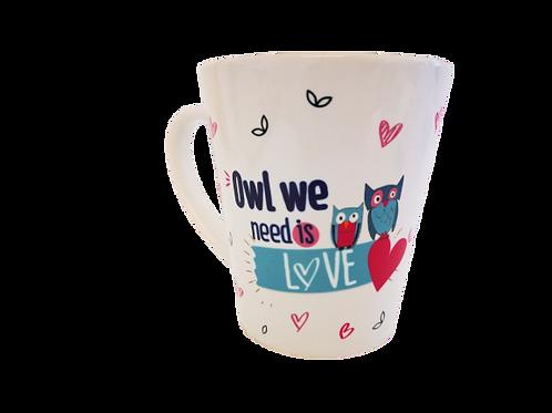 ספל - Owl we need is love