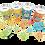 Thumbnail: סביבון ומטבעות שוקולד במיני קופת חיסכון- סדרת חנוקומיקס