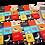 Thumbnail: סט תחתיות לכוסות  - מילים וציפורים