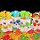 Thumbnail: ספלי קומיקס עם מטבעות שוקולד וסביבון - מסדרת חנוקומיקס