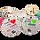 Thumbnail: מתנות למורה ולגננת - מחזיקי מפתחות  עם מסר של הוקרה