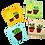 Thumbnail: מארז מגנטים צבעוניים - מתנה קטנה ומושלמת