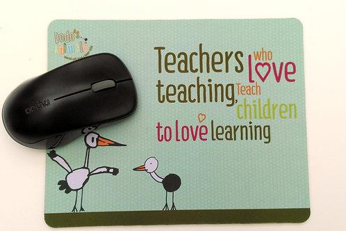 פד לעכבר - Teachers who love teaching teach children to love learning