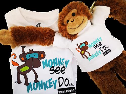 קוף אחרי בנאדם - מתנה קופיפית לילדים