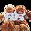 Thumbnail: בובת קוף מגניבה עם שם הילד או הקדשה