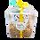 Thumbnail: סט מתנה כוס, תחתית ומגבת עם הציפורים של דודו