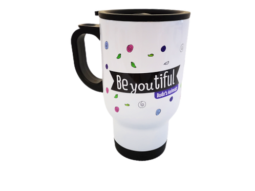 Be-you-tiful - ספל תרמי