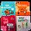 Thumbnail: סט מגנטים בשקית אורגנזה -Follow your dreams