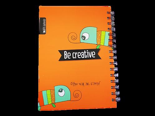 מחברת יצירתיות -  HappyThoughts