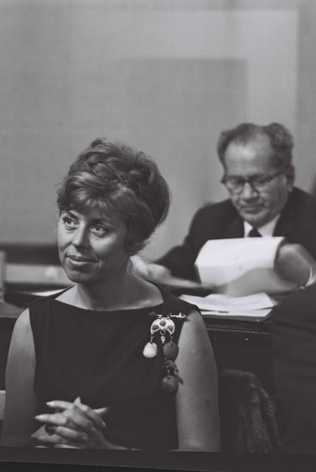 פתיחת הכנסת הששית 1965 קרדיט משה פרידן.j
