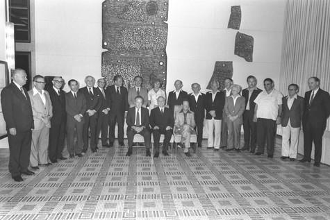 ממשלת רבין הראשונה 1974 קרדיט משה מילנר.